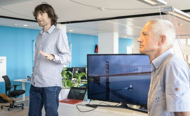 Boyan Slat (Founder & CEO) and Ruud Schrama (Pacific Operations Project Director)