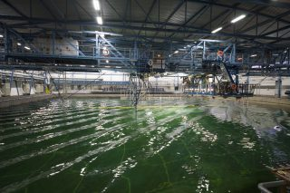 3D model tests at Marin, Wageningen (NL)
