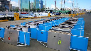 Manta Trawls lined up for Mega Expedition.